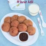 Beetroot Wheat Idli