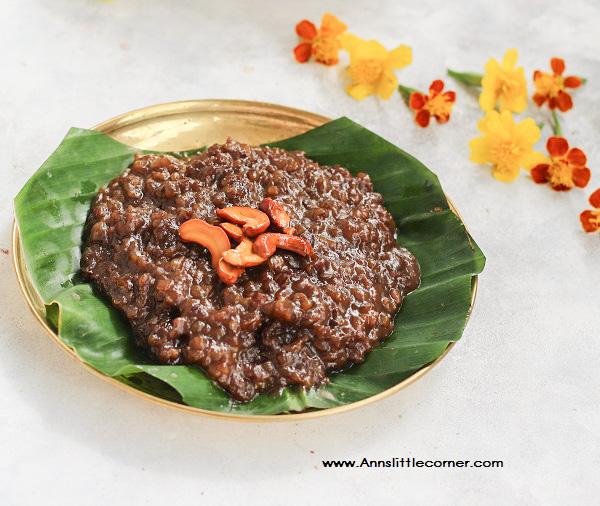 Palm Jaggery Pongal / Karupatti Pongal