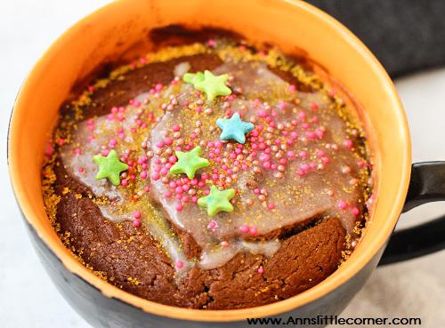 Coffee Walnut Mug Cake