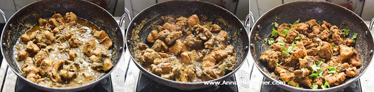 Coriander Chicken Fry step 6