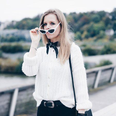 lunette blanche