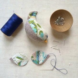 merry wobbler bird pattern