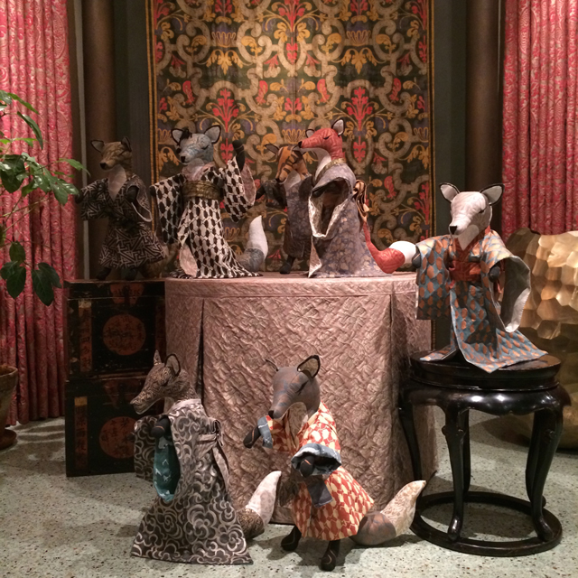 fortuny foxes