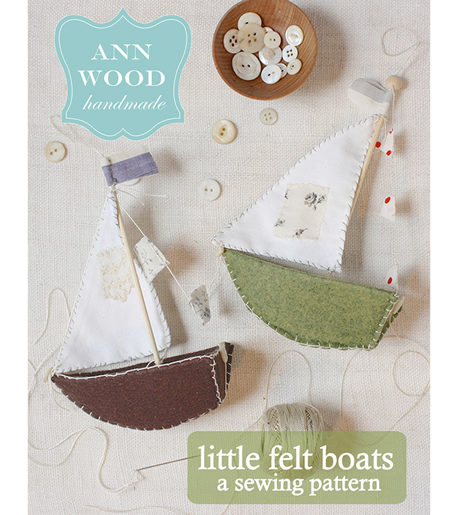 little felt boats