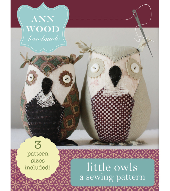 little owl pattern