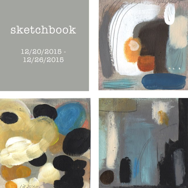 sketchbook : week 41