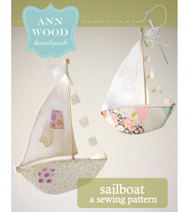 sailboat sewing pattern