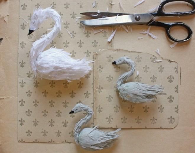 paper swan work