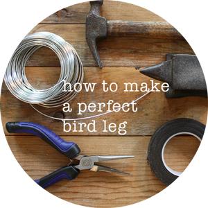 how to make a perfect bird leg