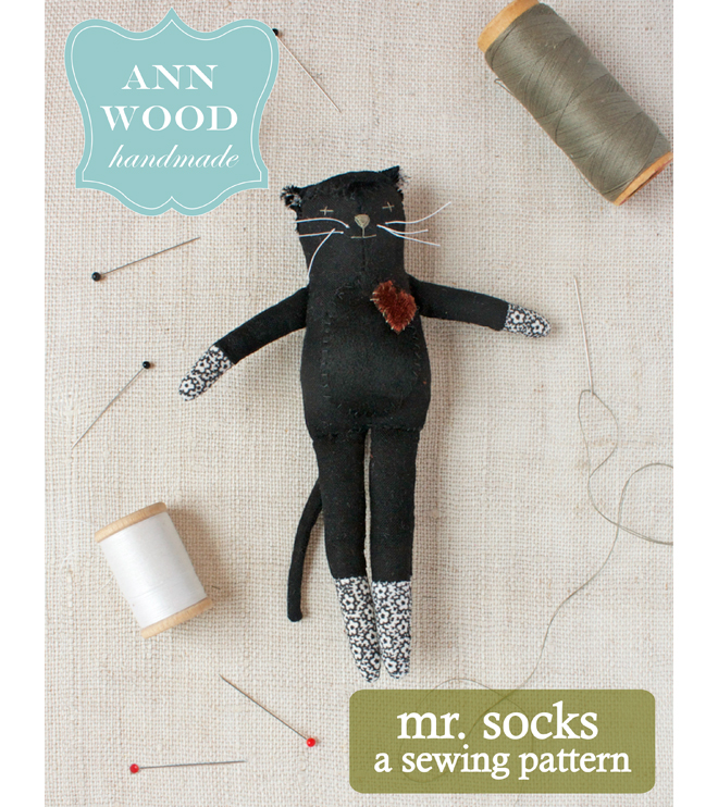 mr. socks : sewing pattern
