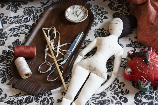 naked rag doll pattern progress