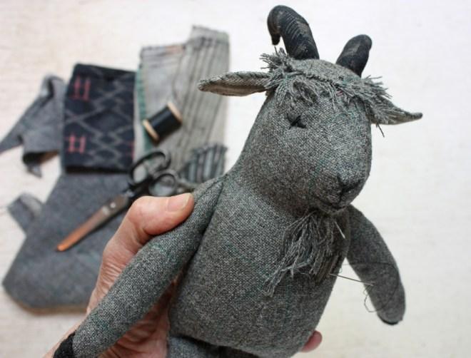 billy goat rag doll