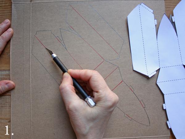 dear little paper mache boat ornament : a free tutorial – ann wood ...
