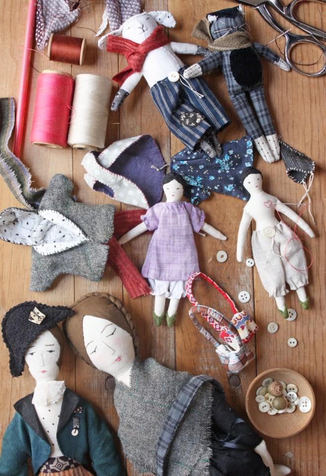 rag dolls : finishing touches