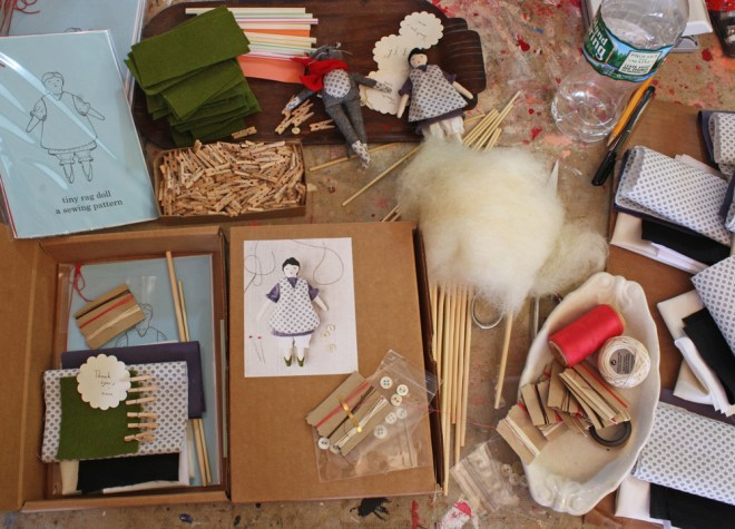 doll kit making