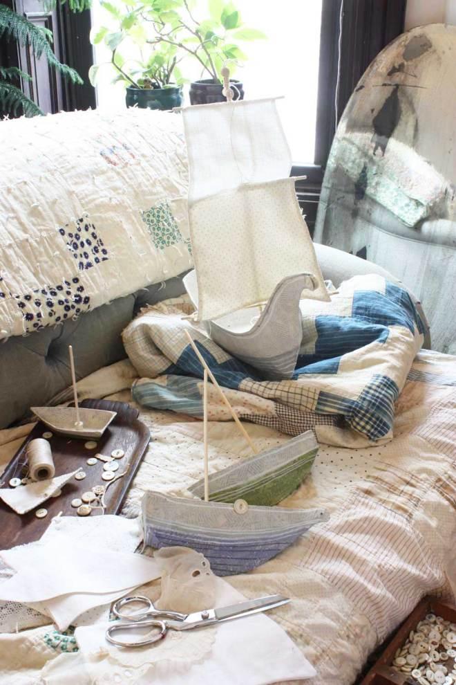 paper mache fship pattern