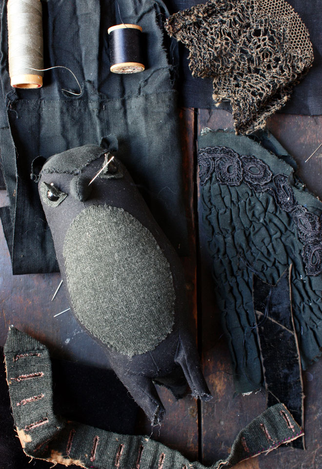 owl made form edwardian garments