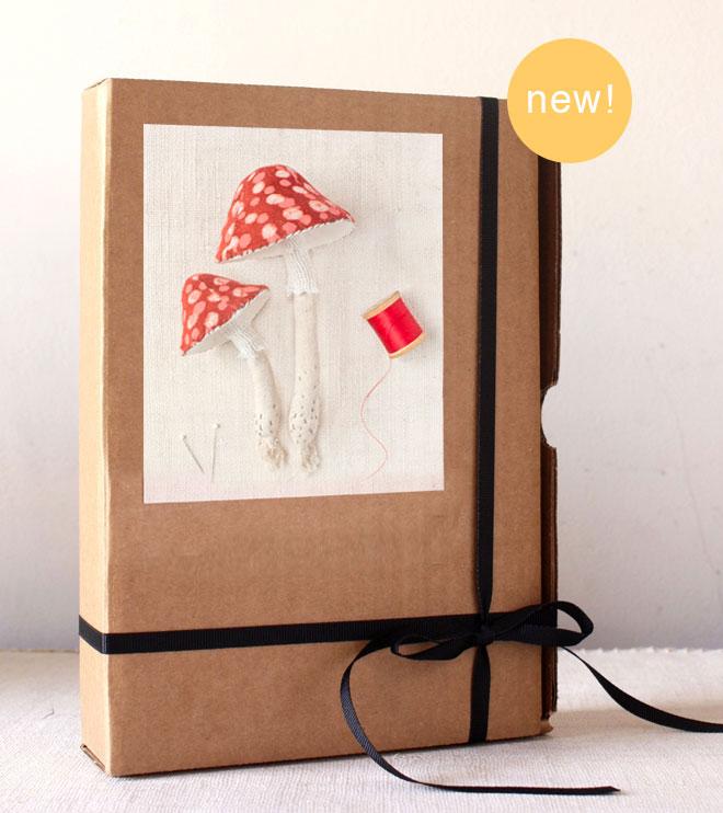 mushroom sewing kit