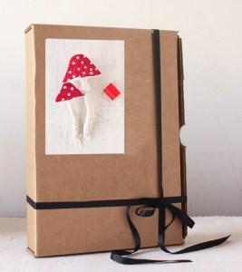 fabric mushroom sewing kit