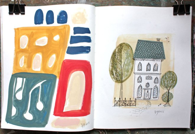 sketchbook : manor house