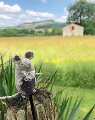the mouse who went to france