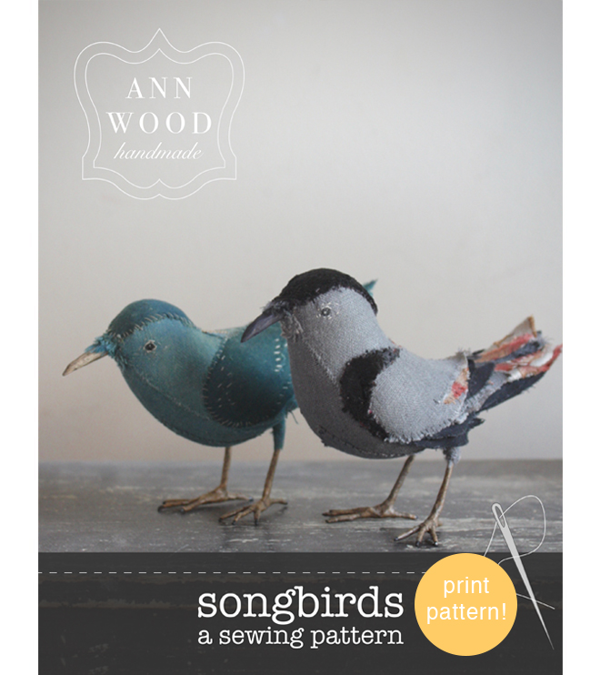 songbird pattern booklet