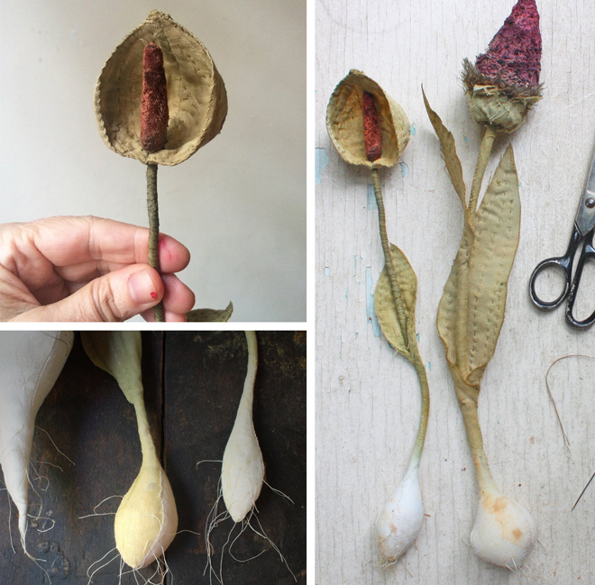 botanical stitching class with ann wood