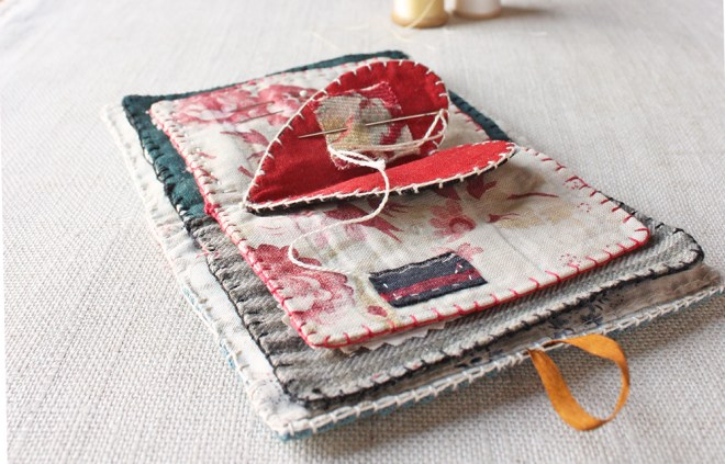 heart needle book sewing pattern