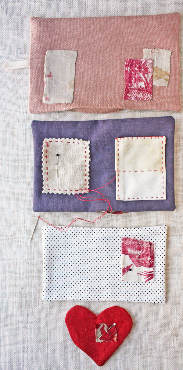 needle book tutorial : stitch pages