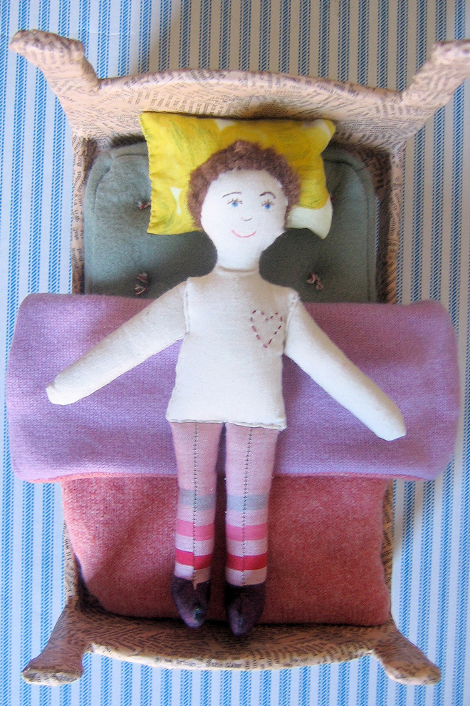 ann wood handmade first blog post - buddy ragdoll
