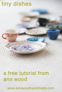 dollhouse dish tutorial