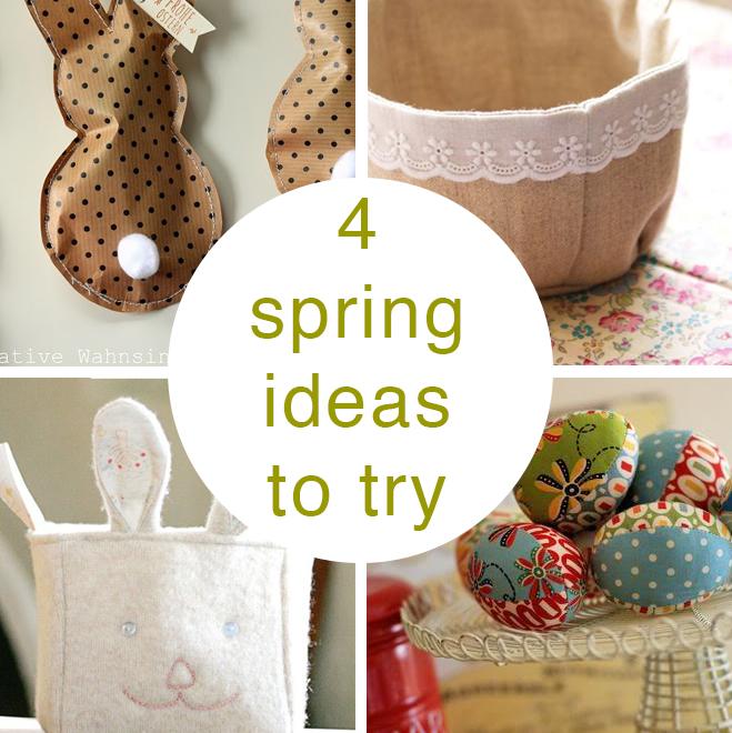 4 spring craft ideas