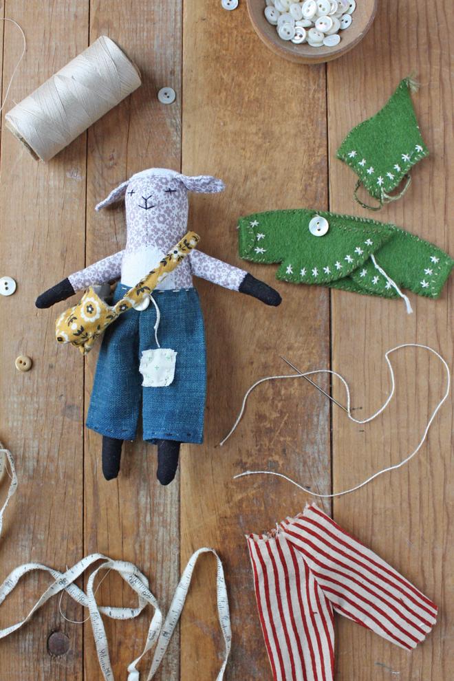 doll pants sewing pattern