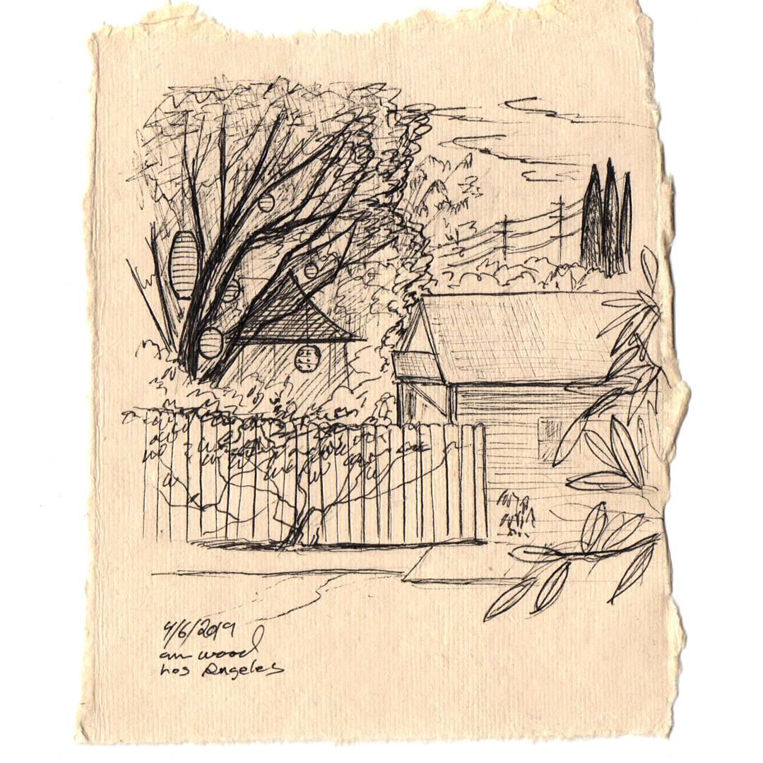 ann wood : drawing - los angeles
