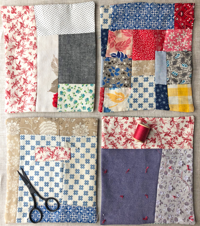 make a quick and easy mini quilt from scraps – ann wood handmade