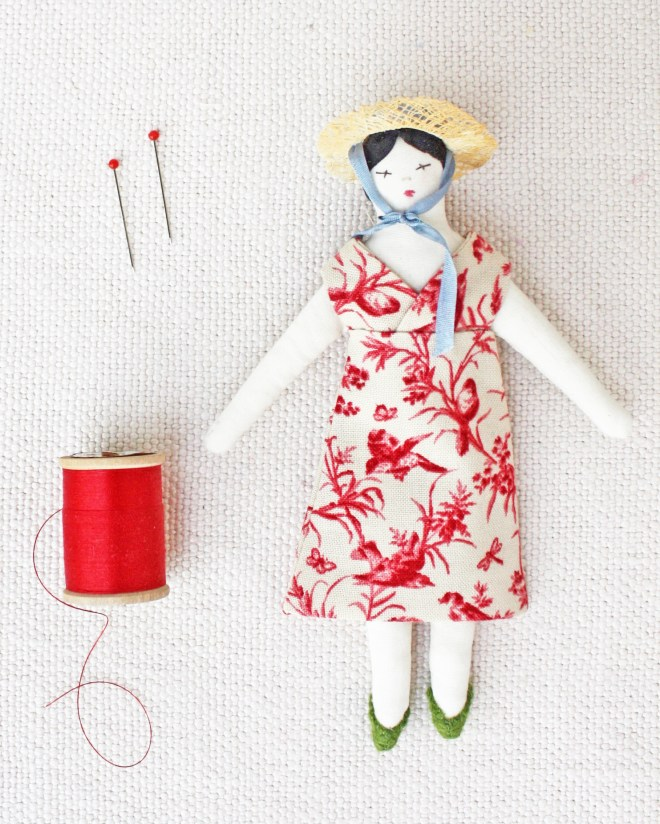 easy doll clothes sewing patterns