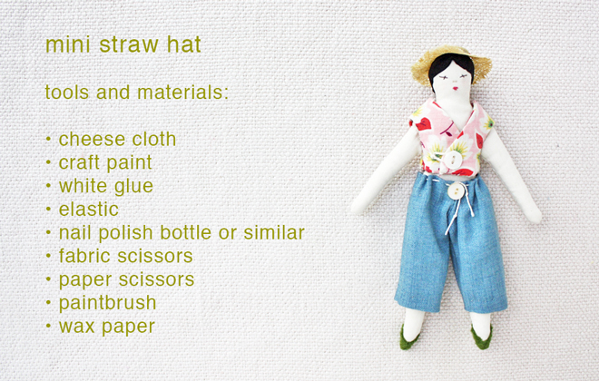 free min straw hat diy