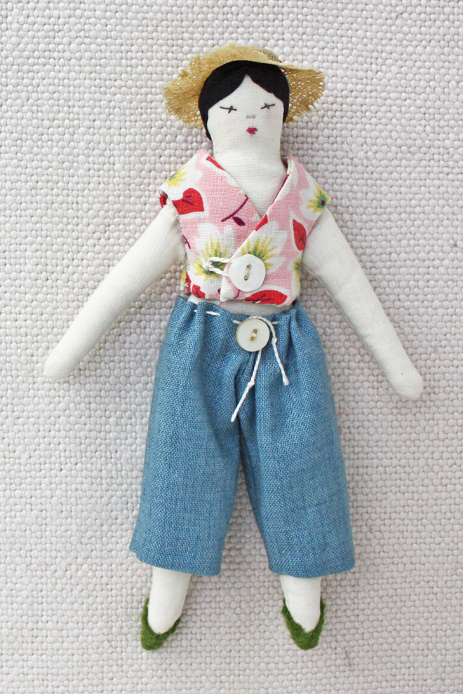 easy doll clothes