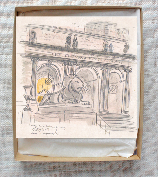 painting : nyc public library