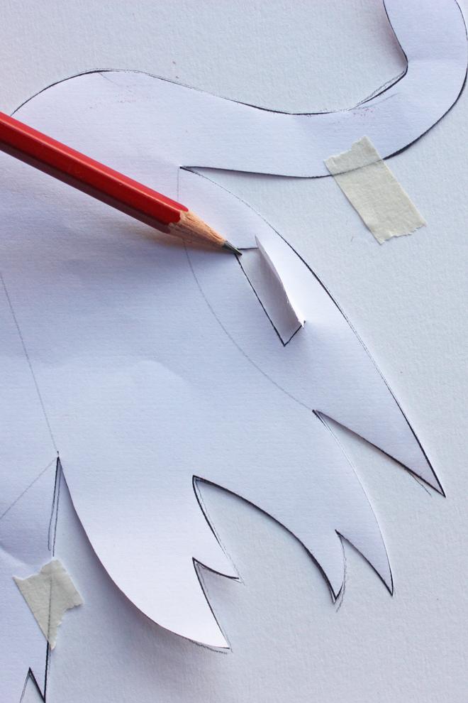 paper swan diy