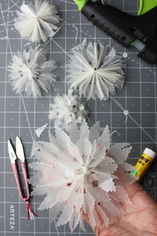 wax paper craft idea