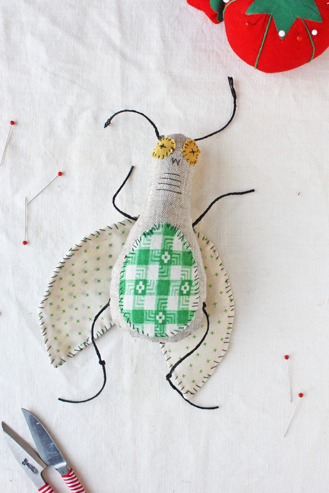 bug doll free sewing pattern