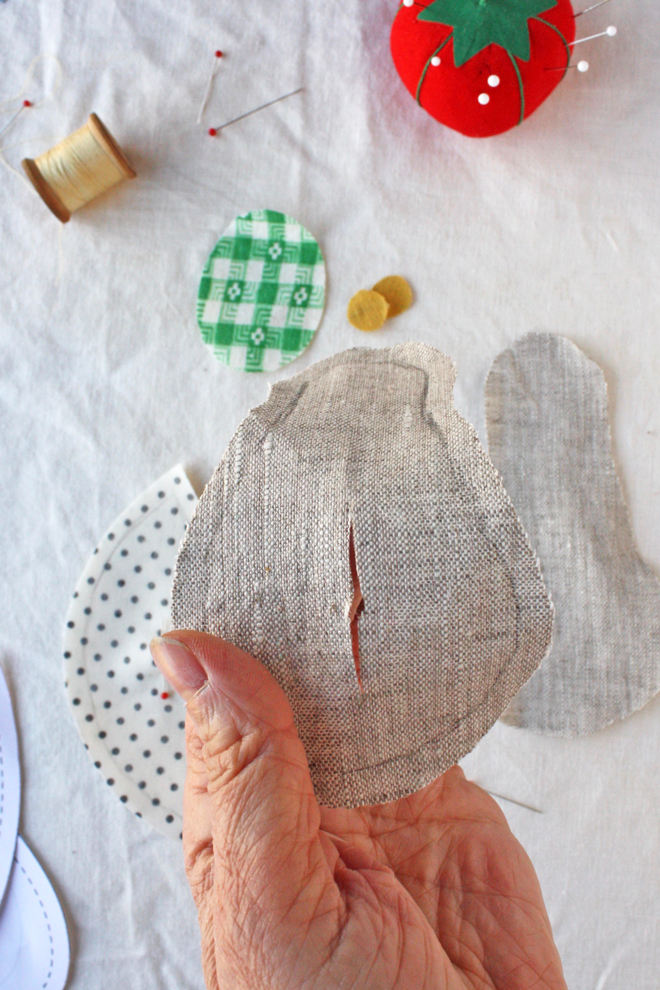 bug sewing pattern