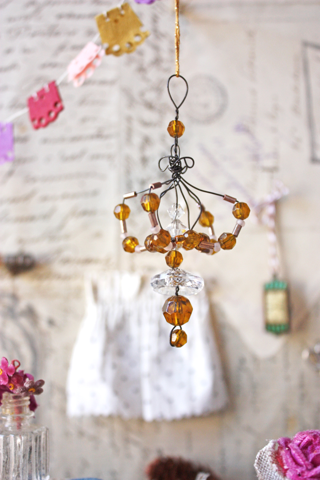 miniature chandelier