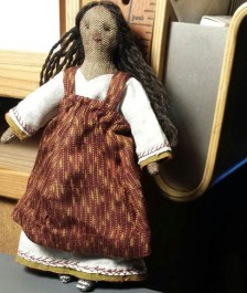 tiny rag doll pattern