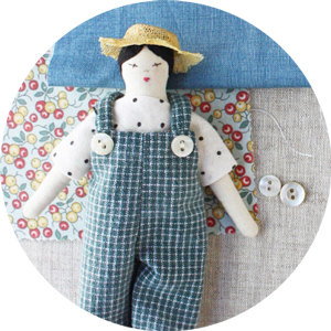 free doll overalls sewing pattern