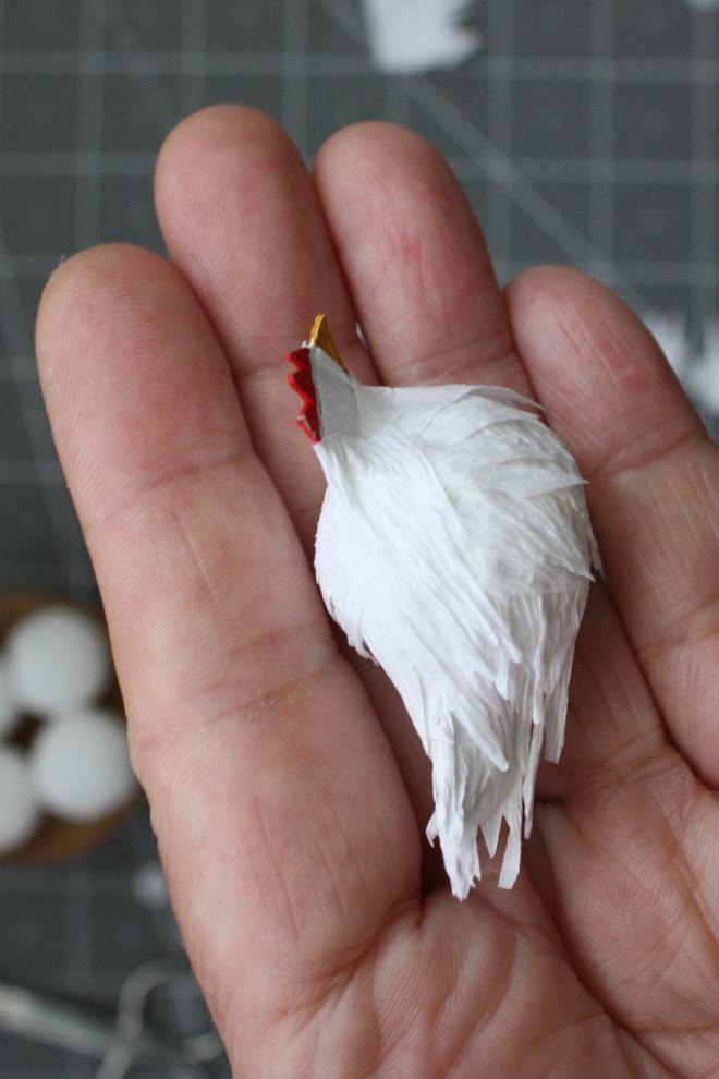 miniature hen diy