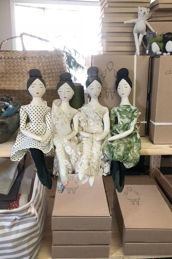 elegant and nude rag dolls