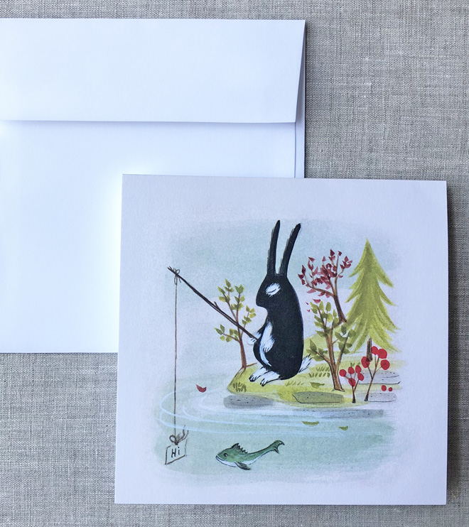 note cards and prints