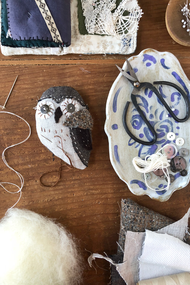 owl ornament sewing pattern